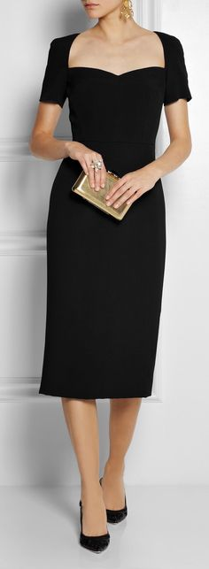 Dolce and Gabbana* The neckline is so vintage!! Love it~