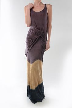 Maxi Dress Featuring Ruched Details