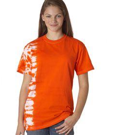 dyenomite youth tonal fusion tee - orange (l)