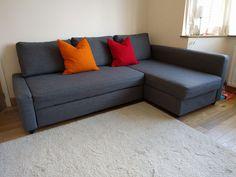 IKEA FRIHETEN Corner sofa-bed with storage   eBay