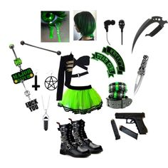 creepypasta outfit for my oc toxic Scene Outfits, Punk Outfits, Teen Fashion Outfits, Cosplay Outfits, Pretty Outfits, Cool Outfits, Supernatural Outfits, Anime Inspired Outfits, Creepypasta Oc