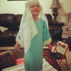 Bible character costumes~ cool for family worship to get young ones excited to participate :-)