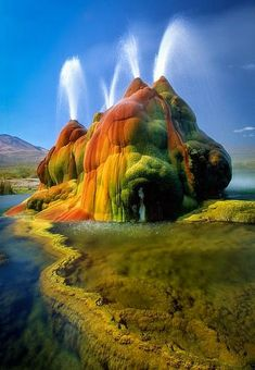 Amazing Photography - Fly Geyser, NV