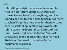 I don't ship Johnlock but this was too cute not to post :D <-- How can you not ship them? I used to not ship straight people, now  I kind of do.