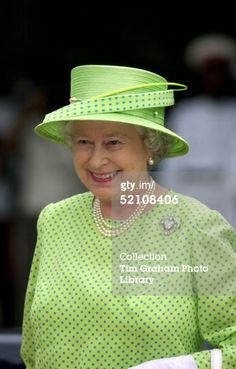 News Photo : Queen Elizabeth Ll Smiling Whilst Attending The... - Philip Somerville