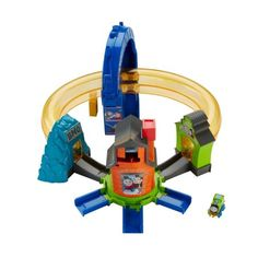 Fisher-Price Thomas & Friends Minis Boost 'n Blast Stunt Set, Multicolor Funko Pop, Minis, Thomas Engine, Mystery, Star Wars, Toys R Us Canada, Dynamic Design, Thomas And Friends, Train Set