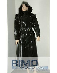 "Raincoat ""Achim"" - Vinyl Coats - RIMO Mantelmode"