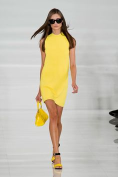 Pin for Later: The Ultimate Guide to Spring & Summer's Big Fashion Colour Trends Feel the Sunshine Ralph Lauren Spring 2014