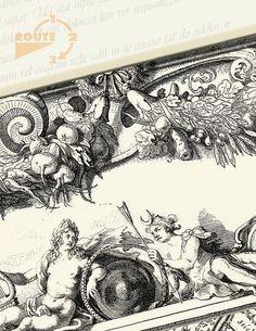 #Ansicht Historisch Amsterdam 1625-05 van Route123 op Etsy #Picture Postcard