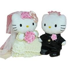 Hello Kitty Wedding Toppers