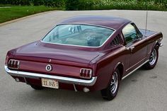 Avid Ford Mustang enthusiast Al DeYoung restored his genuine K-code 1965 fastback in his own garage. 1965 Mustang, Mustang Fastback, Mustang Cars, Ford Mustangs, Ford Pickup Trucks, Car Ford, Classic Chevy Trucks, Classic Cars, My Dream Car