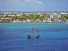 Title:  Pirate Ship In Cozumel  Artist:  Aimee L Maher  Medium:  Photograph - Photographs