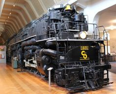 Chesapeake and Ohio Allegheny Steam Locomotive built in 1941. At The Henry Ford Museum in Dearborn, MI