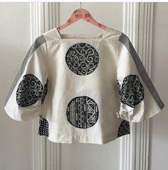 Shogun World: Modern Takes on East Asia Batik Blazer, Blouse Batik, Batik Dress, Batik Fashion, Fashion Sewing, Diy Fashion, Fashion Outfits, Womens Fashion, Batik Kebaya