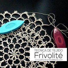 Cómo se teje la técnica Frivolité / Curso para principiantes | Crochet y Dos…