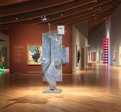 """David Smith, """"March Sentinel"""", (1961), Stainless steel"""