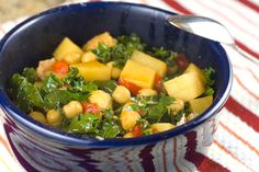 Thirty minute chickpea stew, from Macheesmo (Via Soup Chick)