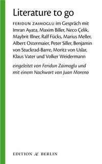 'Literature to go' entstand während Feridun Zaimoglu die Samuel Fischer Gastprofessur 2004 an der FU Berlin inne hatte.