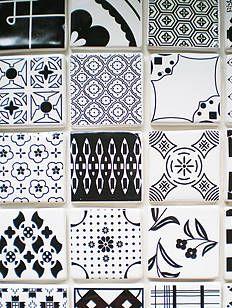 handmade pick 'n' mix tiles by dupenny | notonthehighstreet.com