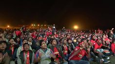These were the scenes at #ILOVEUNITED Kolkata following Henrikh Mkhitaryan's opener - what a reaction!