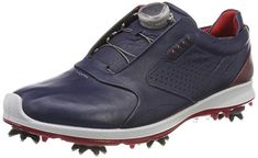 6b3aa4685 Incredbly The Yak leather uppers on these mens biom G2 boa gore-tex golf  shoes by Ecco are