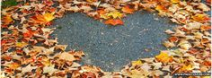 Autumn Heart Facebook Cover - PageCovers.com