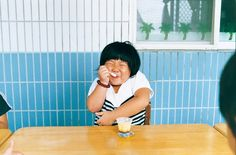 "Kotori Kawashima, from the series ""Morning Star"" . Film Photography, Creative Photography, Children Photography, Pop Art Design, Word Design, Japanese Film, Godchild, Morning Star, Beautiful Children"