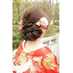 @yoko_tomoiのInstagram写真をチェック • いいね!63件 Hairstyle, Instagram Posts, Kimono, Weddings, Fashion, Moda, Bodas, Fashion Styles, Hair Style