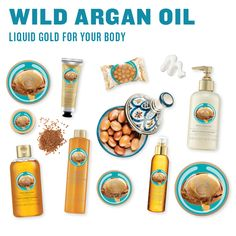 Need a little liquid gold for your body? Try our Wild Argan Oil collection for pure luxury! #wildarganoil #thebodyshopauast #arganoil #liquidgold #luxurious #bodycare