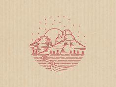 Indian Gardens Stamp