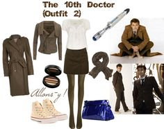 """The 10th Doctor (Outfit 2)"" by ellia ❤ liked on Polyvore"