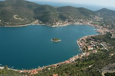 The city of Ithaca, or otherwise Vathi, is the capital of the island. Small and picturesque, it is the only town on the island, with approximately permanent residents. Ithaca Greece, Greece Islands, Greece Travel, Travel Destinations, Graffiti, Flora, Greek, Around The Worlds, Europe