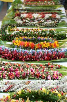 Leis from Kona, Hawaii
