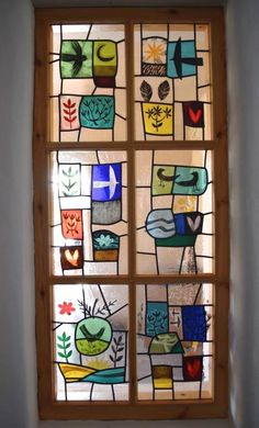 Beautiful window by Christian Ryan. Off to do a workshop with him next week- eeek!