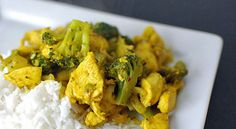 Turmeric Chicken and Broccoli Stir-Fry