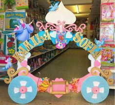 2nd Birthday Parties, Diy Birthday, Photo Frame Prop, Photo Props, Kids Party Themes, Party Ideas, Care Bear Party, Party Frame, Cinderella Birthday