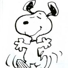 Snoopy (Peanuts)- I just love this little guy! ;)