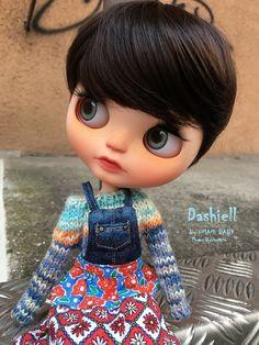 DASHiELL Ooak Custom Blythe Doll