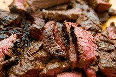 Grilled Tequila Garlic Lime Flank Steak ~ Guy Fieri, 2008
