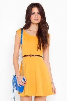Sabrina Skater Dress | $48 | Nasty Gal