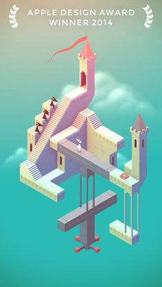 Monument Valley A stunningly designed puzzle game.