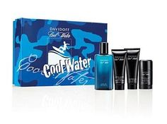 Cool  Water  Gift  Set  by  Davidoff  Cologne  for  Men  2  Piece  Set  Includes:  4.2  oz  Eau  de  Toilette  Spray  +  2.5  oz  After  Shave  Balm - from my #perfumery