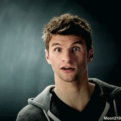 Thomas Müller being goofy as always