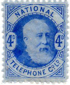 The Revenue Stamp Specialist Telephone, Ephemera, Stamps, Miniatures, United States, America, Money, History, Nice