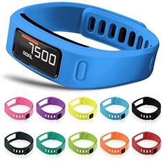 Rileysun Replacement Bands Wristband Fitness Breathable Elastic Strap with Metal Clasp (2 Secure Silicon Fastener Rings for Free, No Tracker)(Large) -- Find out more about the great product at the image link.
