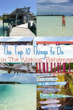 Top 10 Things to do in the Abacos Bahamas Abaco Bahamas, Bahamas Honeymoon, Bahamas Island, Bahamas Vacation, Bahamas Beach, Nassau, Vacation Destinations, Vacation Trips, Vacation Ideas