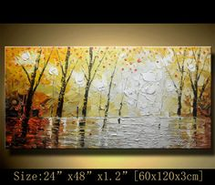 Abstract Wall Paintingmulti colored Modern Textured by xiangwuchen