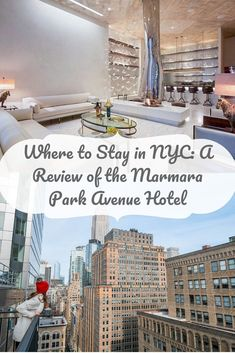 A trip to the Big Apple is not complete with the perfect accommodation. The Marmara Park Avenue hotel is in a great central location, has amazing amenities for hotel guests, beautiful rooms, and the most perfect views of the NYC skyline. This is my review of the Marmara Park Avenue Hotel. #newyork #nyc #newyorkcity #newyorkhotels #parkavenue #marmaraparkavenue #bigapple