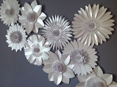 Hey, I found this really awesome Etsy listing at https://www.etsy.com/listing/267576956/pearlescent-white-giant-paper-flower