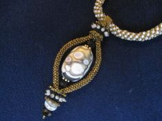 Beautiful focal bead from Creative Journey in Buford.  Designed by Jimmie Boatright